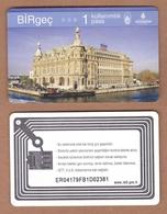 AC - SUBWAY, METRO, BUS, TRAM, FERRY SINGLE RIDE CARD HAYDARPASA TRAIN STATION ISTANBUL, TURKEY - Transportation Tickets