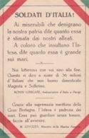 1920ca.-Soldati D'Italia! A Cura Dell'istituto Italo-britannico - Militaria