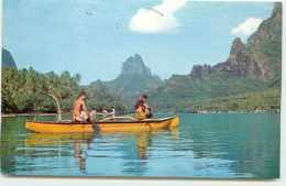 TAHITI BAIE DE COOK PROMENADE EN PIROGUE - Tahiti