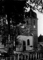 (Jura)  CPSM Censeau Eglise Et La Fontaine (Bon Etat) - France