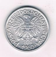 2 ZLOTE  1960  POLEN /3082/ - Pologne