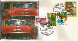 Australia National Motor Museum. Birdwood (Australia's Largest Motor Museum). Letter With Special Postmark - Voitures