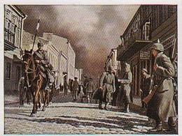 Sammelbild Alva - Der Weltkrieg 1915 - Deutsche Reiter In Schaulen - Russland -  Nr. 45 (40467) - Zigaretten