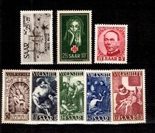 Sarre YT N° 263/267, N° 269, N° 292 Et PA N° 12 Neufs ** MNH. TB. A Saisir! - 1947-56 Protectorate