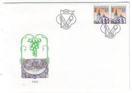SLOVAKIA FDC 221 - FDC