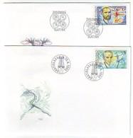 SLOVAKIA FDC 223-224 - FDC