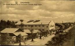 LEOPOLDVILLE-VUE  DES GRANDS MAGASINS DE LA COMPAGNIE COLONIALE BELGE / A 402 - Kinshasa - Léopoldville