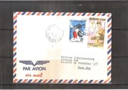 Lettre Du Burkina Faso Vers Pays-Bas - 1992 - Général De Gaulle (à Voir) - Burkina Faso (1984-...)