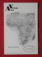 TARJETA TIPO POSTAL TYPE POST CARD QSL RADIOAFICIONADOS RADIO AMATEUR VICTOR ALFA DIVISION 118 GAMBIA AFRICA MAP MAPA VE - Sin Clasificación