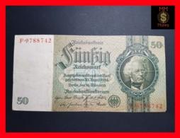 GERMANY 50 Reichsmark 30.3.1933  P. 182 A   VF - 50 Mark