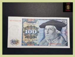 GERMANY REPUBLIC FEDERAL 100 Deutsche Mark  2.1.1970  P. 34 A  XF \ AU - 100 Deutsche Mark