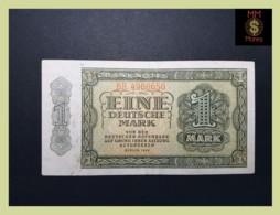 GERMANY DDR 1 Deutsche Mark  1948  P. 9 B  VF + - [ 5] 1945-1949 : Bezetting Door De Geallieerden