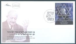 ISRAEL - FDC - 14.6.2010 - SIMON WIESENTHAL - Yv 2035 - Lot 19329 - FDC