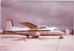 ST YAN  (S&L) Avion :    LE NORD 262  - Photo Originale Des Années 60     COMBIER CIM Imp à Macon - Aviation