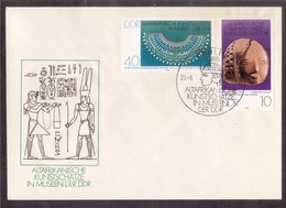 QY29   Germany DDR 1978 Ancient Egypt,art,hieroglyphs - Museum Berlin Envelope And Special Postmark - Egittologia