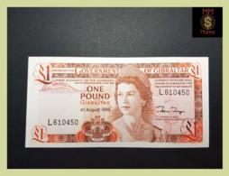 GIBRALTAR 1 £  4.8.1988  P. 20 E  UNC - Gibraltar