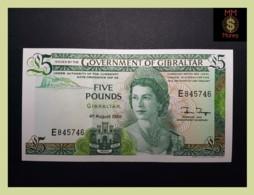 GIBRALTAR 5 £  4.8.1988  P. 21 B  UNC - Gibraltar