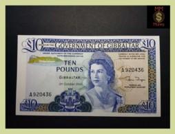 GIBRALTAR 10 £  21.10.1986  P. 22 B  UNC - Gibraltar