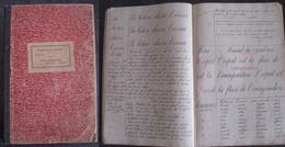 GENDARMERIE NATIONALE. Cahier D'instruction 1922 - Police