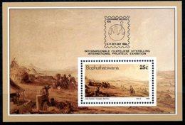 Bophuthatswana, 1986, Johannesburg Stamp Exhibition, Painting, MNH, Michel Block 1 - Bophuthatswana