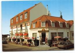 """MERLIMONT-PLAGE - Bar-Restaurant-Hôtel """"Au Bon Accueil"""" Citroen CX  Brasserie Biere Gold Kanterbrau - France"""