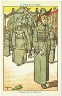 Illustrateur : Jan Wiegman. Suffragettes. Departing In Peace. - Illustrateurs & Photographes