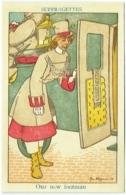 Illustrateur : Jan Wiegman. Suffragettes. Our New Footman. - Illustrateurs & Photographes