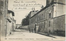 Chalons-sur-Marne (51) - Caserne Dutertre - Route De Saint-Memmie - Animé - Châlons-sur-Marne