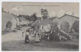 52 - FAYS-BILLOT ** Route De Bussières Animée ** / 1843 A - Fayl-Billot
