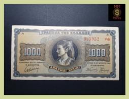GREECE 1.000  1000  Drachmai 21.8.1942  P. 118 UNC - - Griekenland