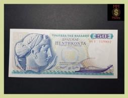 GREECE 50 Drachmai 1.10.1964  P. 195   UNC - - Griekenland