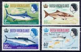 "1968-(MNH=**) British Virgin Islands S.4v.""Game Fishing"" - British Virgin Islands"