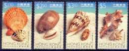 """1997-(MNH=**) Hong Kong China S.4v.""""Sea Shells"""" - Nuovi"""