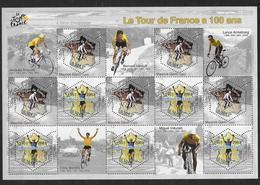 France 2003 Bloc Feuillet N° 59 Neuf Cyclisme Tour De France à La Faciale - Blocks & Kleinbögen