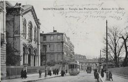 MONTPELLIER / Temple Des Protestants -Avenue De La Gare : Tramway - Montpellier