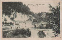 1917-Fonzaso (Belluno) Ponte Della Serra Albergo Gorza, Non Viaggiata - Belluno
