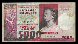 # # # Banknote Madagaskar 5.000 Francs UNC- # # # - Madagaskar