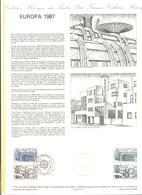 FRANCIA - France - 1987 - Europa Cept - Document Philatélique - FDC - Paris - Documenti Della Posta