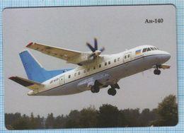 UKRAINE / Flexible Magnet / Aviation. Regional Cargo And Passenger Airliner AN-140. Antonov. - Transport