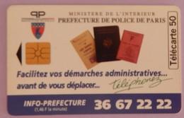 TÉLÉCARTE 09/95 SANS UNITÉ - Frankrijk