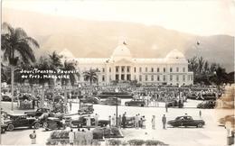 Jour Transm. Pouvoir Au Pres. Magloire - Port-au-Prince - & Old Cars - Haïti