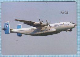 UKRAINE / Flexible Magnet / Aviation. Transport Aircraft AN-22. Antonov. - Transportmiddelen