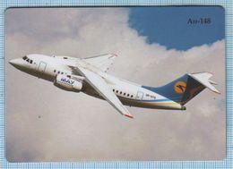 UKRAINE / Flexible Magnet / Aviation. Transport Aircraft AN-148. Antonov. - Transport