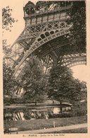 (98)  CPA  Paris Jardin De La Tour Eiffel (Bon Etat) - Arrondissement: 07