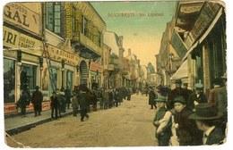 Bucuresti Bucharest Bukarest Romania Postcard Lipscani - Romania