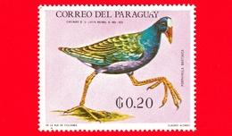 Nuovo - MNH - PARAGUAY - 1969 - Fauna Selvatica Dell'America Latina - Gallinella  - Porphyrula Martinica - 0.20 - Paraguay