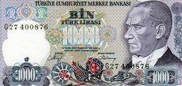 Billet De Banque De Turquie 1000 Lira Type Atatürk De 1970 - Neuf - Turquie