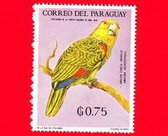 Nuovo - MNH - PARAGUAY - 1969 - Fauna Selvatica Dell'America Latina - Uccelli - Pappagallo - Amazona Ochrocephala - 0.75 - Paraguay