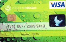 LUXEMBOURG / CREDIT CARD / VISA / BANQUE POST - Geldkarten (Ablauf Min. 10 Jahre)