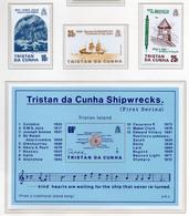 1985 - TRISTAN DA CUNHA - Yv.  Nr. 366/368 + BF 17 - NH - (UP131.10) - Tristan Da Cunha